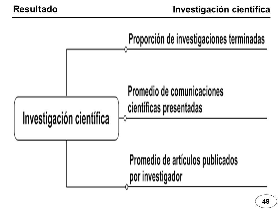 49 Resultado Investigación científica