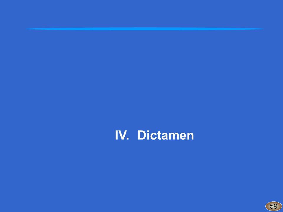 IV.Dictamen 59