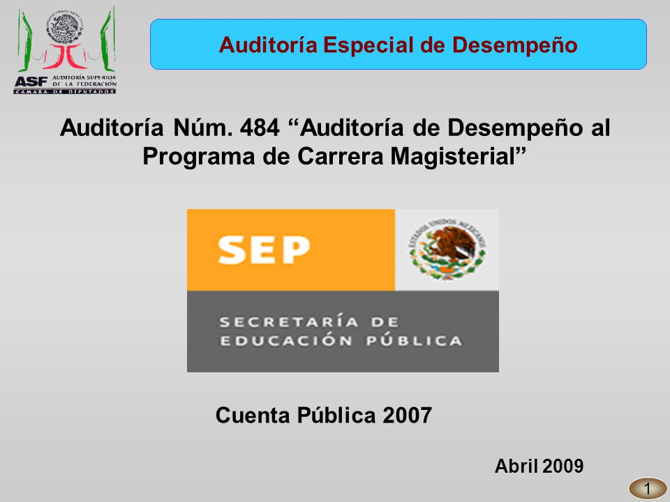 En 2007, la SEP contaba con 1,277 plazas administrativas sujetas al Servicio Profesional de Carrera (SPC).