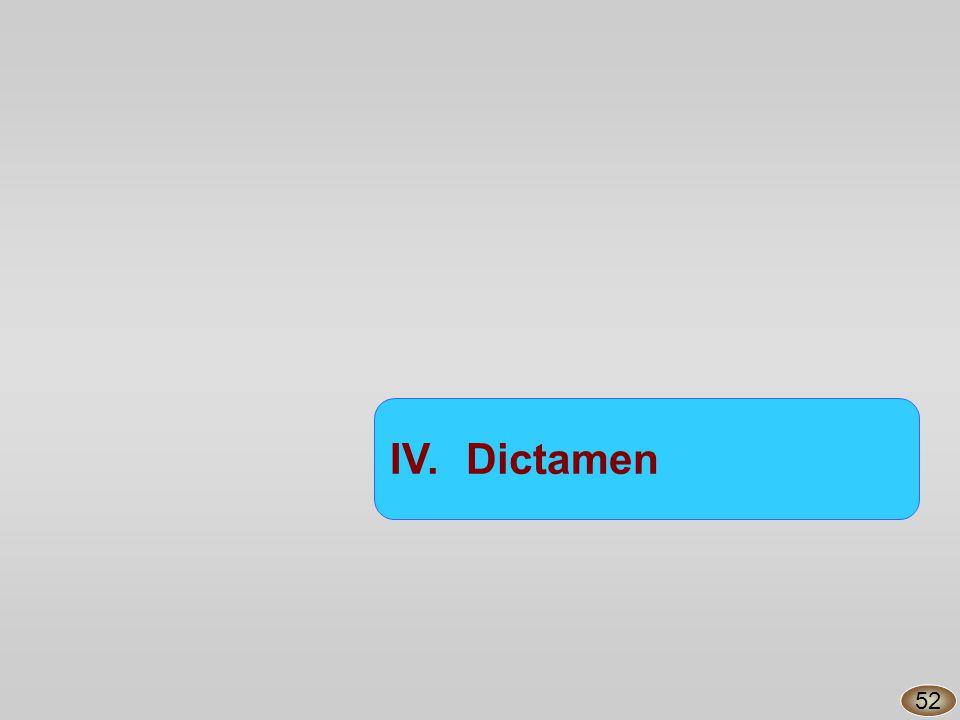 IV.Dictamen 52