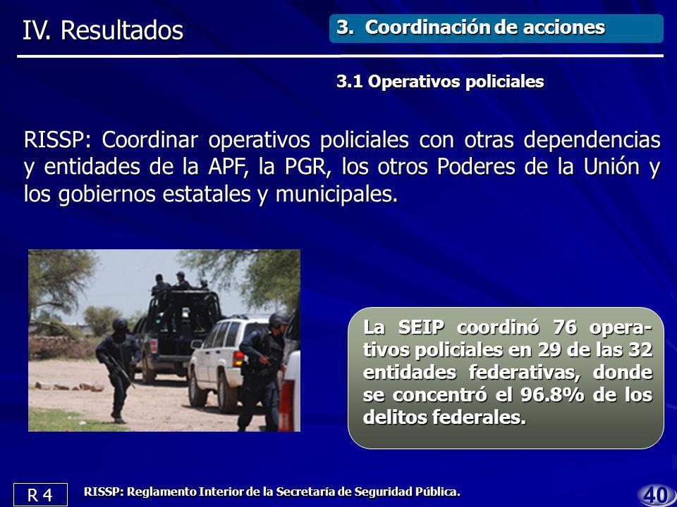 3939 3. Coordinación de acciones IV.