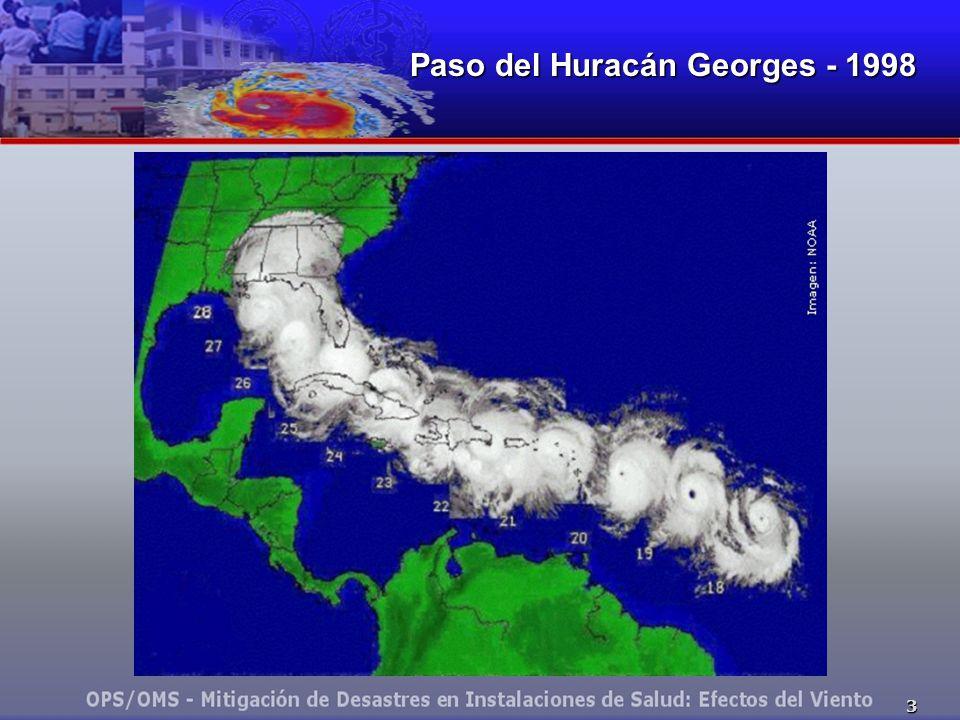 4 Ruta del Huracán Mitch - 1998