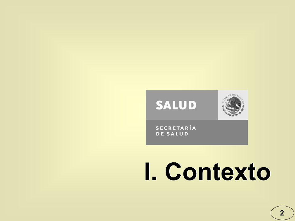 2 I. Contexto