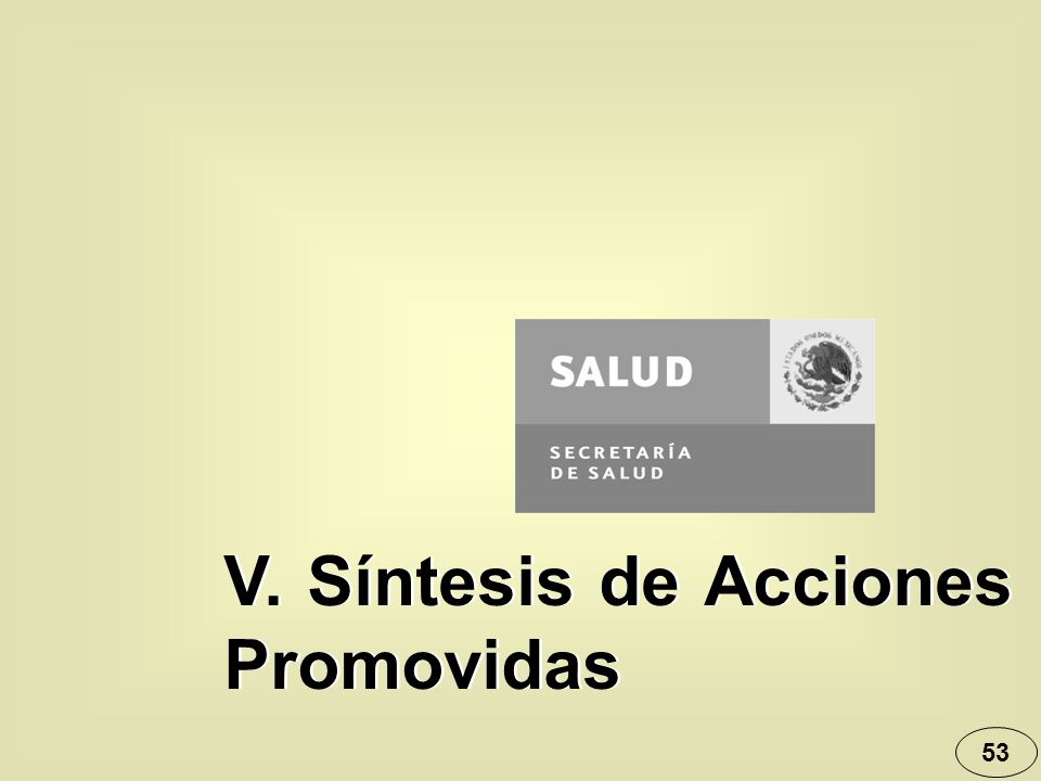 53 V. Síntesis de Acciones Promovidas