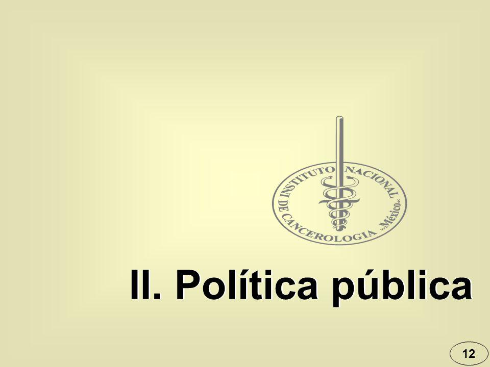 II. Política pública 12