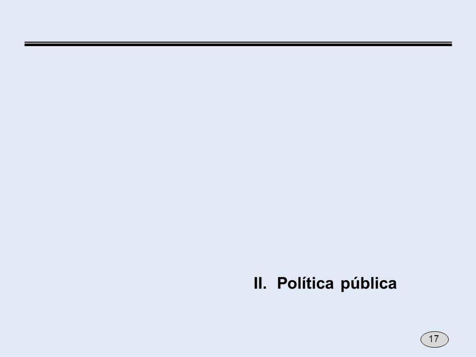 II.Política pública 17