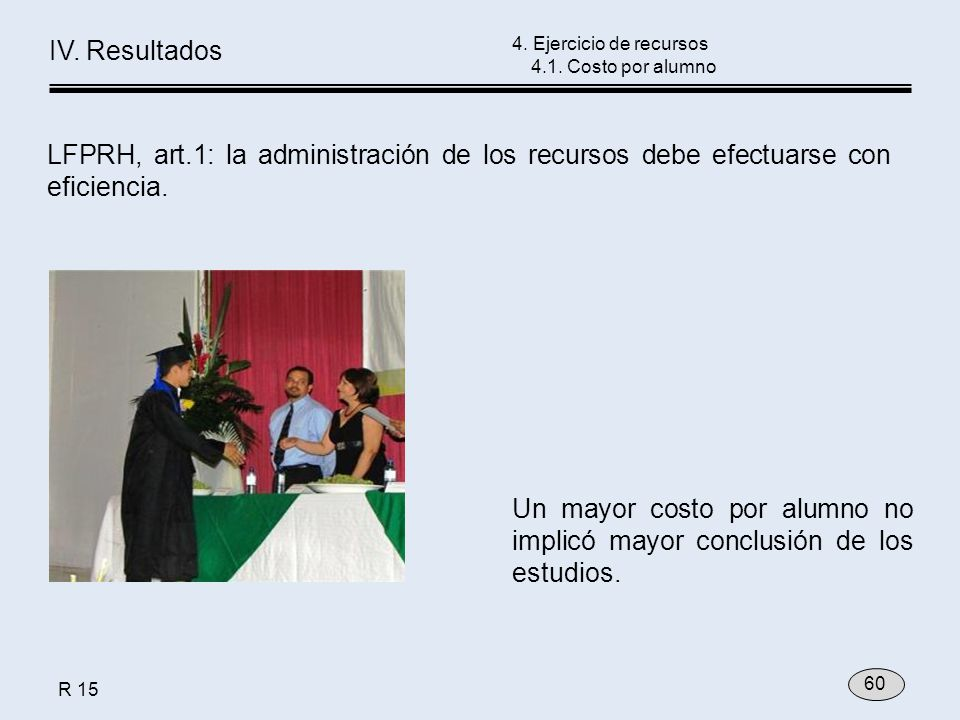 Un mayor costo por alumno no implicó mayor conclusión de los estudios.