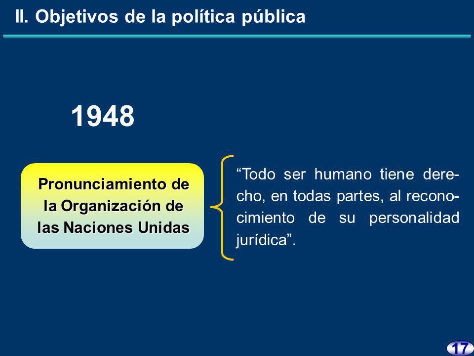 16 1947 Formar el Registro e identifica- ción personal de los mexicanos y extranjeros residentes en el país.