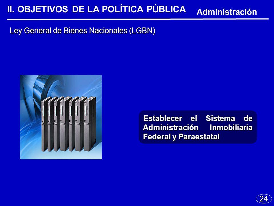 24 Ley General de Bienes Nacionales (LGBN) II.