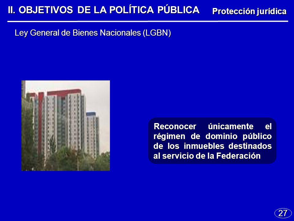 27 Ley General de Bienes Nacionales (LGBN) II.