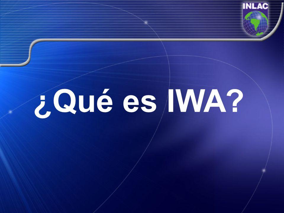 ¿Qué es IWA?