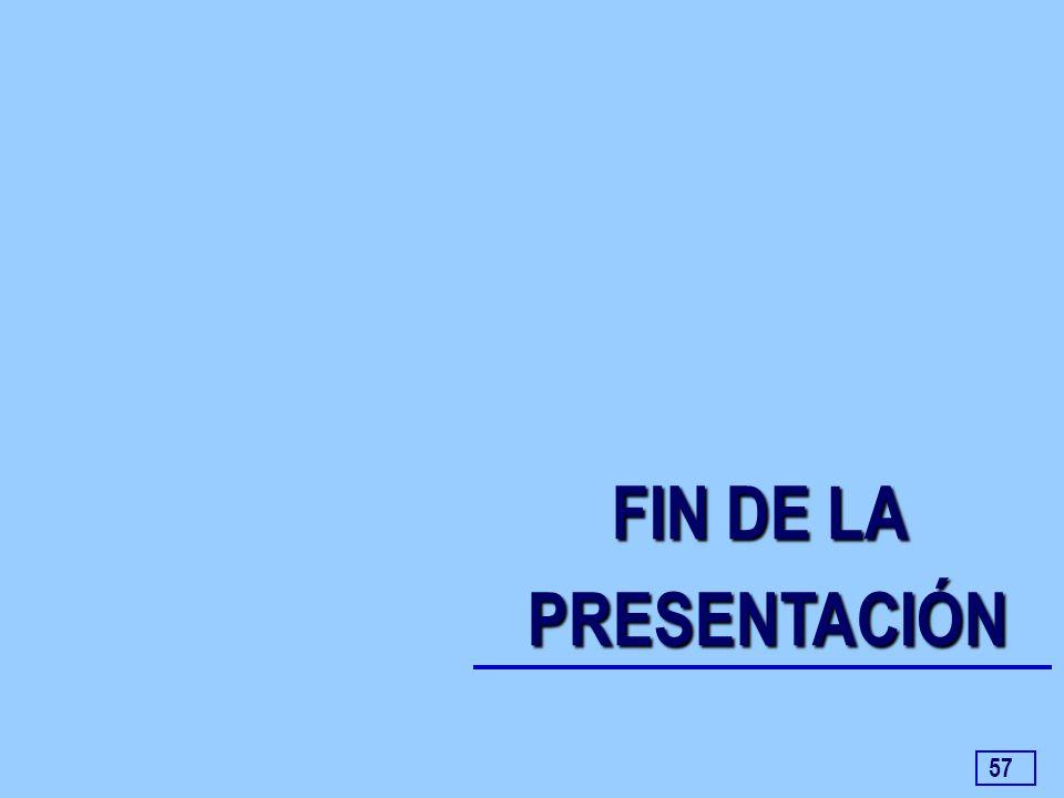 57 FIN DE LA PRESENTACIÓN