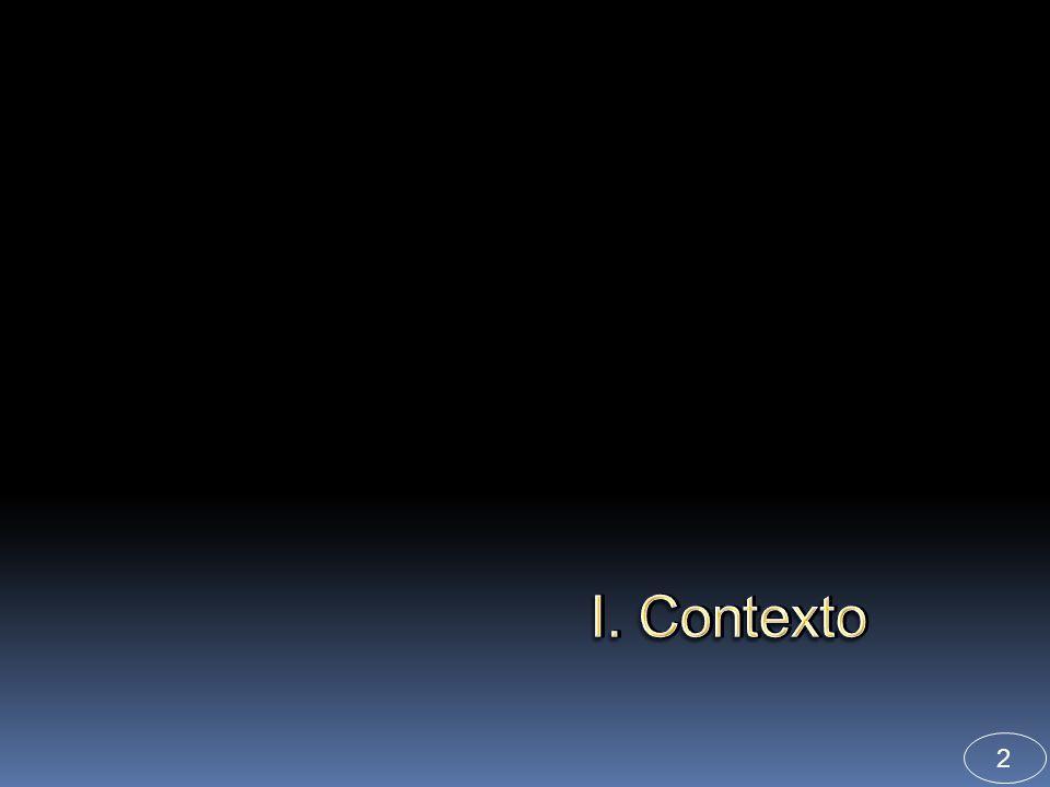 3 I. Contexto 2003 ENSANUT: Encuesta Nacional de Salud.