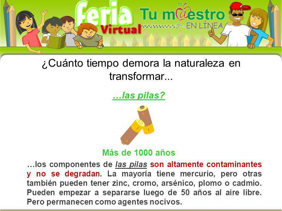 Y ….recuerda que… ¡El mejor residuo es el que no se produce! Profesor Víctor Martínez Posada
