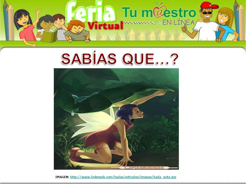 IMAGEN: http://www.linkmesh.com/hadas/articulos/Images/hada_gota.jpghttp://www.linkmesh.com/hadas/articulos/Images/hada_gota.jpg
