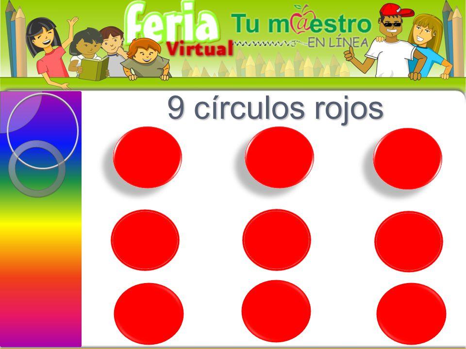 8 rectángulos verdes