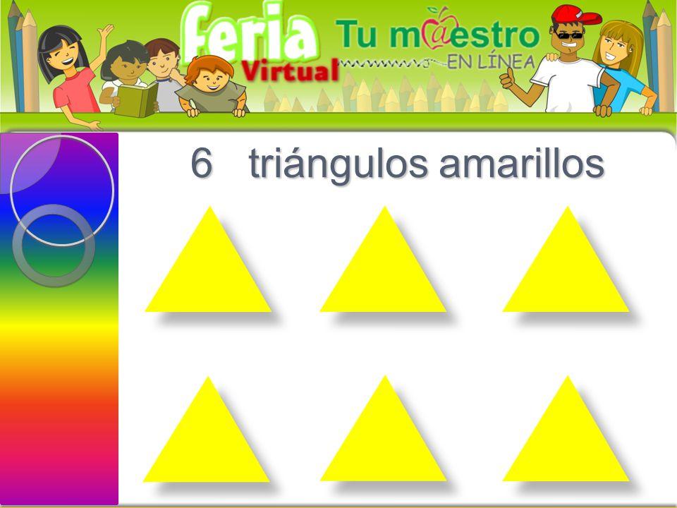5 círculos verdes