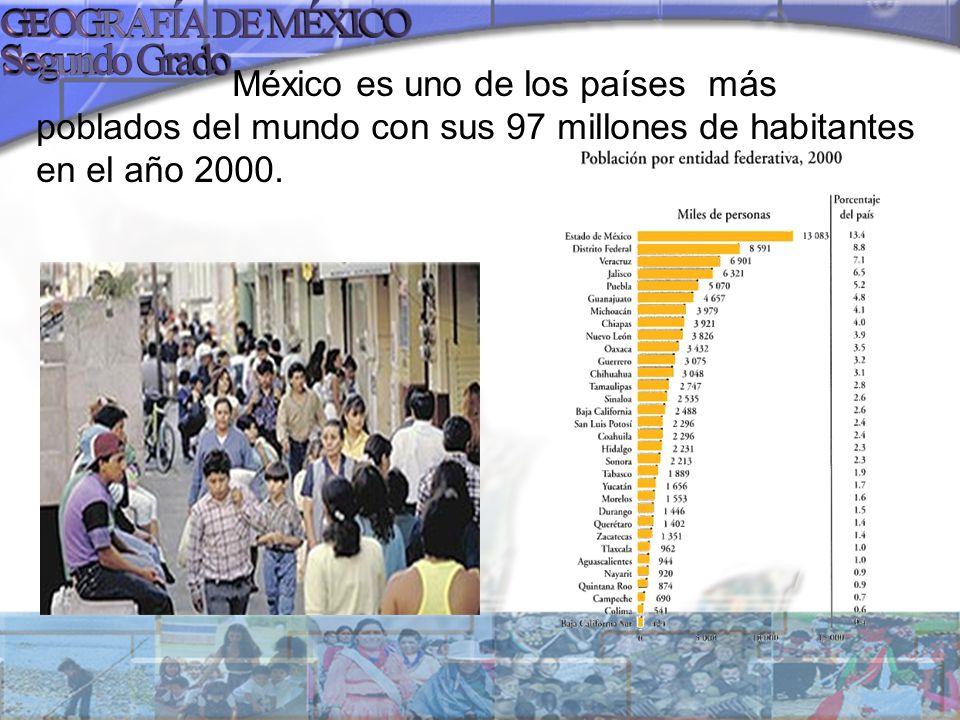 Pero la población de México ha experimentado un crecimiento demográfico, con cambios significativos en cada una de las etapas de su historia: