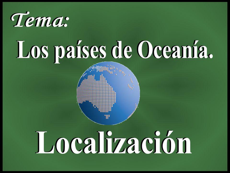 Oceanía es el continente más pequeño con tan solo 8, 505, 070 km2, está formado por un conjunto de islas e islotes ubicados en centro y sur del océano Pacífico, cerca de diez mil, tiene países independientes y colonias, francesas, inglesas y norteamericanas.
