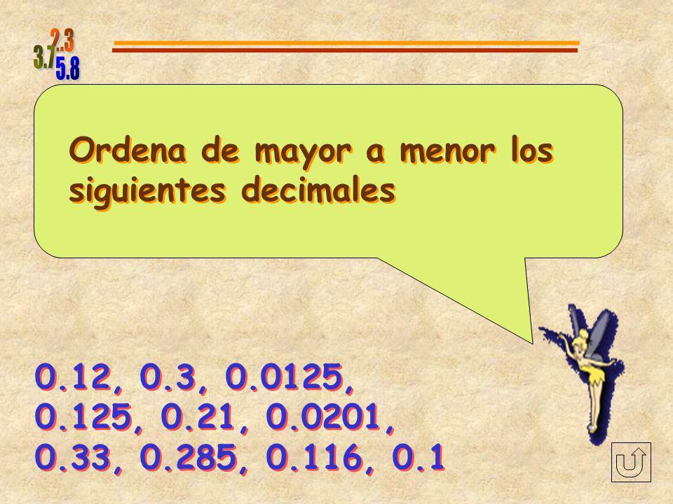 Encuentra en la siguiente lista los números que son más grandes que 1.86 y más pequeños que 2.78 y escribelos de menor a mayor Encuentra en la siguien
