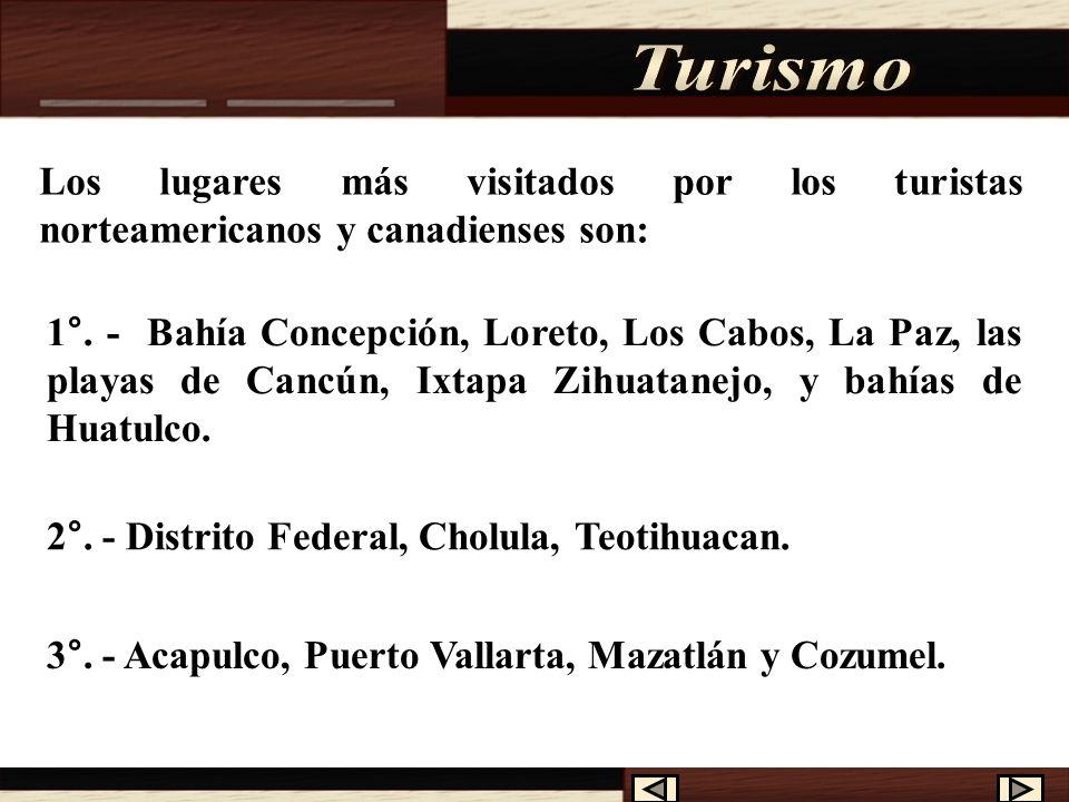 El Turismo es una actividad muy importante para México, gracias a ella se logra una gran captación de ingresos para el país. México tiene grandes recu