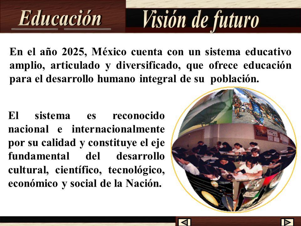 En México la educación está organizada por la Secretaría de Educación Pública (SEP) tiene como propósito esencial crear condiciones que permitan asegurar el acceso de todas las mexicanas y mexicanos a una educación de calidad, en el nivel y modalidad que la requieran y en el lugar donde la demanden.