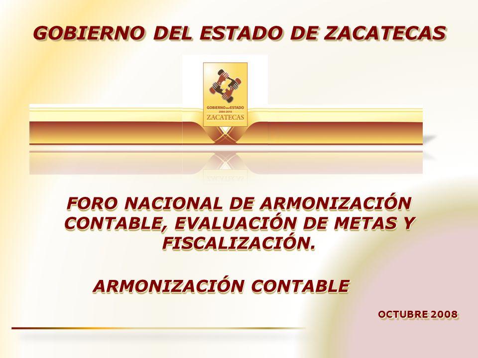 FORO NACIONAL DE ARMONIZACIÓN CONTABLE, EVALUACIÓN DE METAS Y FISCALIZACIÓN.