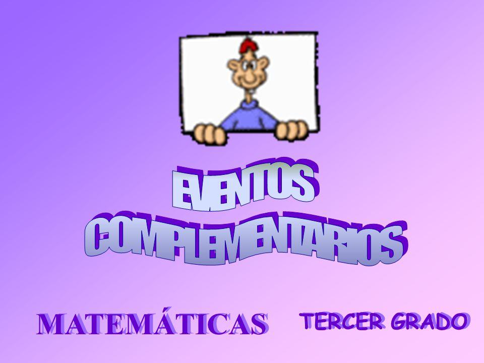 TERCER GRADO MATEMÁTICAS
