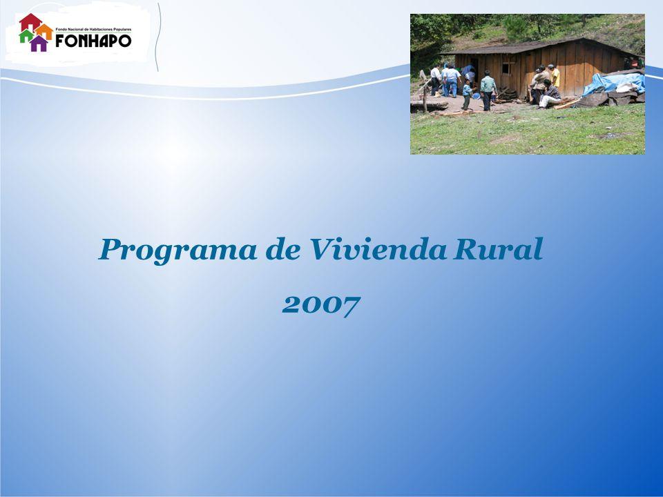 Programa de Vivienda Rural 2007
