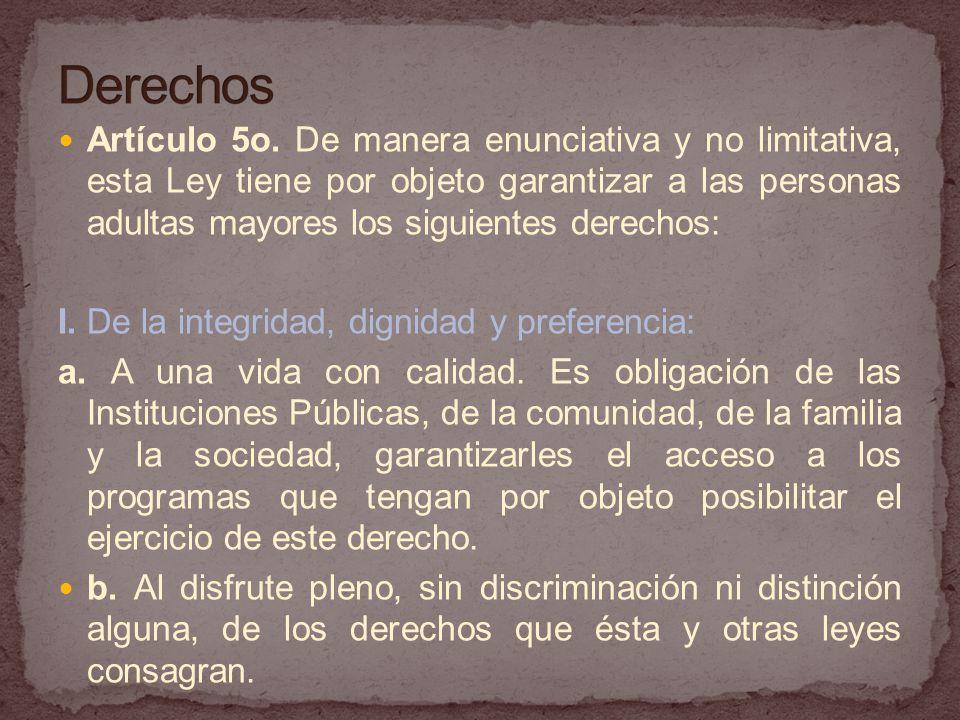 Artículo 5o.