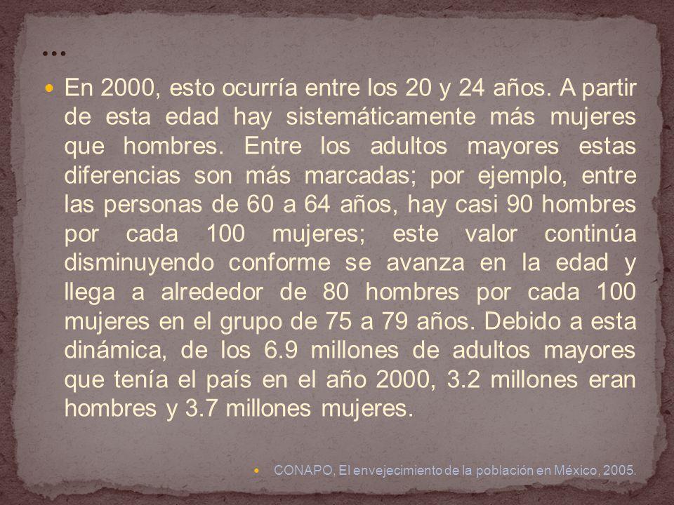 El 25 de junio del 2002 se publicó la LEY DE LOS DERECHOS DE LAS PERSONAS ADULTAS MAYORES, para garantizar el ejercicio de los derechos de las Personas Adultas Mayores, así como establecer las bases y disposiciones para su cumplimiento, mediante la regulación de: