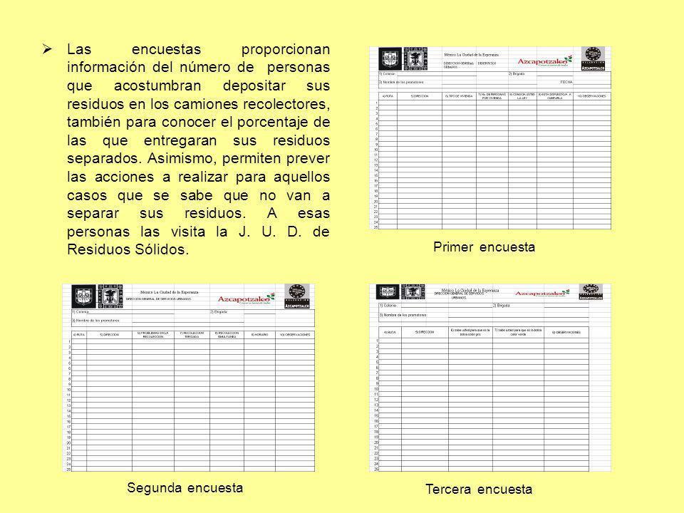 CAPACITACION Para que la difusión fuera exitosa se impartieron cursos de capacitación al personal de limpia.