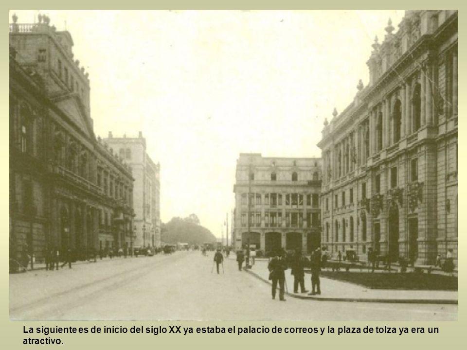 La siguiente es del hermoso palacio de minería cuando la calle era estrecha y del palacio de correos ni siquiera existía, que hermoso fue el siglo XIX