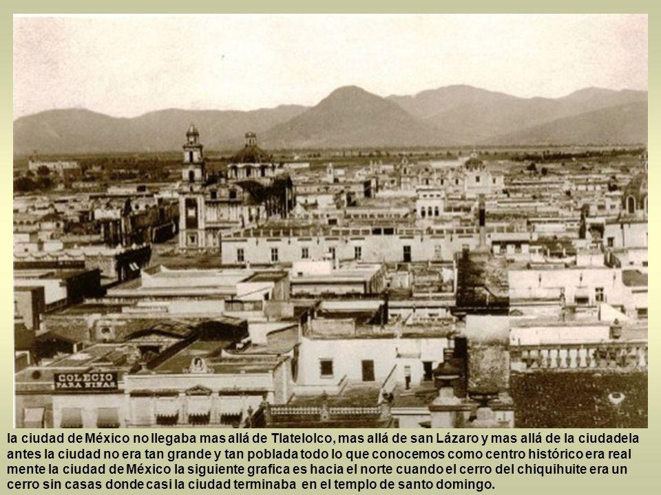 En el año de 1885 el Distrito Federal tenía una superficie de alrededor de 1,200 Km2 y en 1890 llega a tener 1,453 Km2 de superficie. En el año de 190