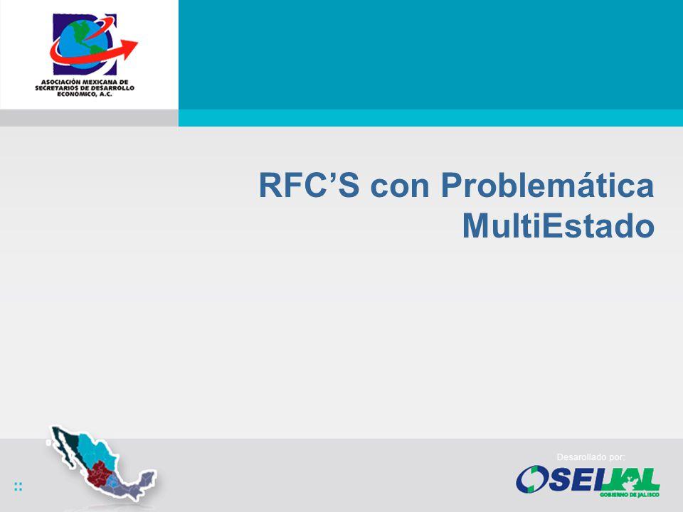 RFCS con Problemática MultiEstado