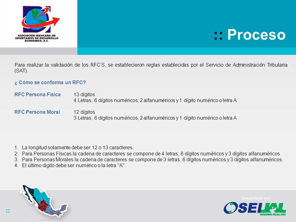 :: RFCS MultiEstado Caso 1 RFCS MultiEstado Jalisco y Chihuahua