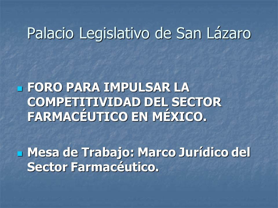 ASOCIACIÓN MEXICANA DE LABORATORIOS FARMACÉUTICOS, A.C.