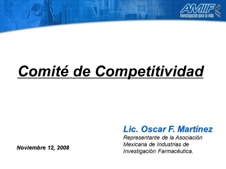 Comité de Competitividad Lic. Oscar F.