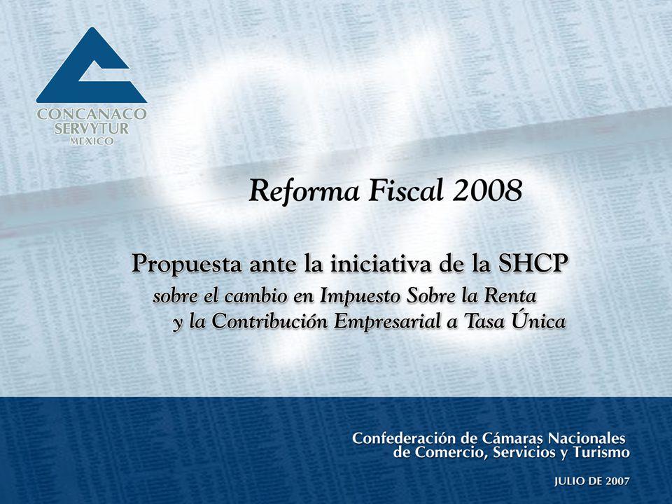 UniversidadPanamericana 2 Índice Propuesta ante la iniciativa de la SHCP sobre el cambio en el Impuesto Sobre la Renta y la Contribución Empresarial a Tasa Única (CETU) Ocho retos en materia hacendaria Impuestos sobre la Renta.