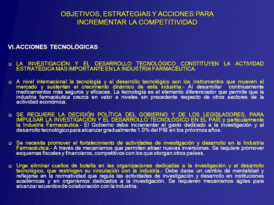 LA INVESTIGACIÓN Y EL DESARROLLO TECNOLÓGICO CONSTITUYEN LA ACTIVIDAD ESTRATÉGICA MÁS IMPORTANTE EN LA INDUSTRIA FARMACÉUTICA.