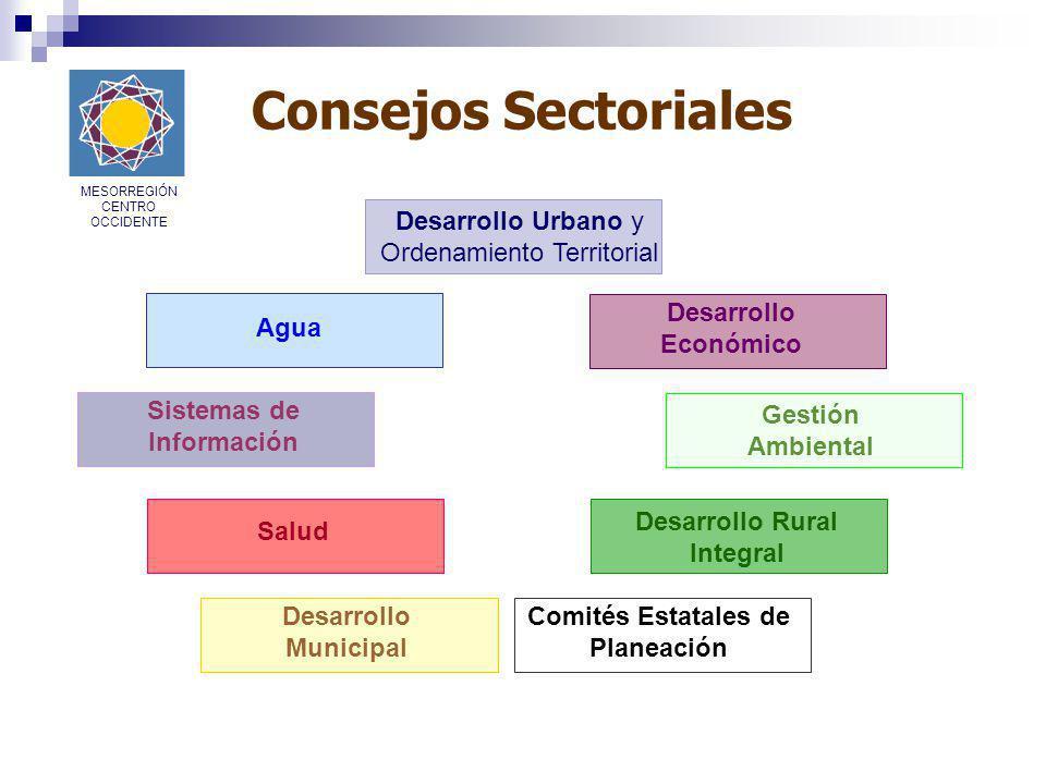 Acciones en marcha v Programa Carretero de la RCO MESORREGIÓN CENTRO OCCIDENTE
