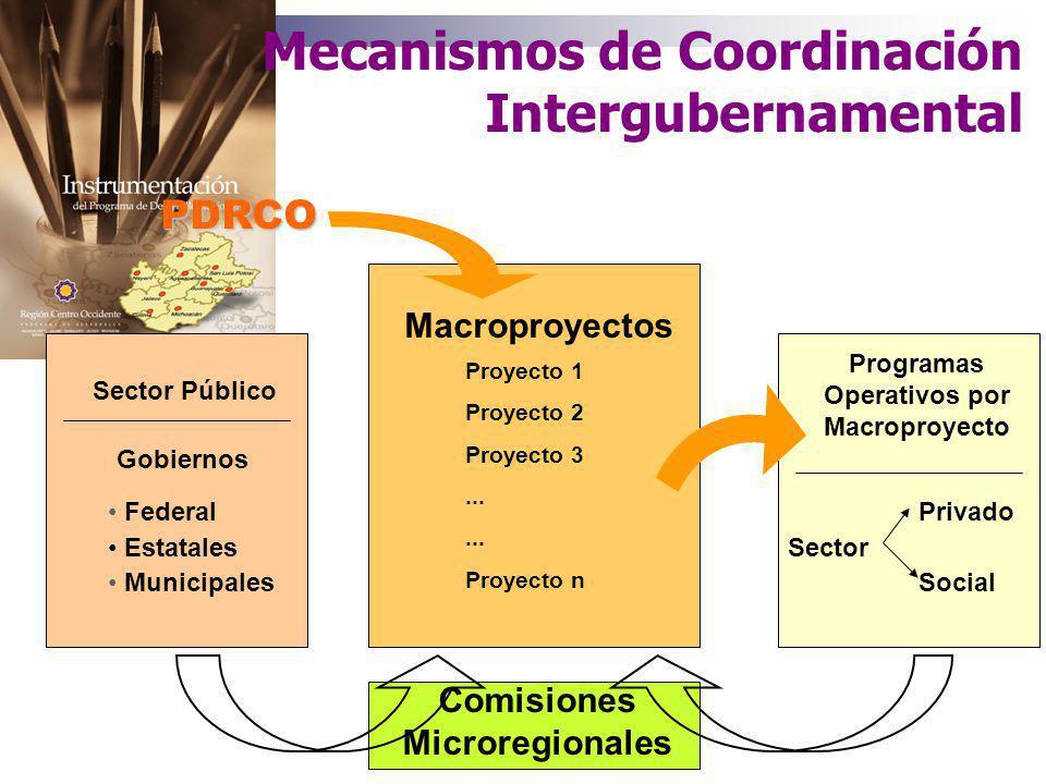 Operación del Programa y las Estrategias de Desarrollo Regional Federal Estatales Municipales