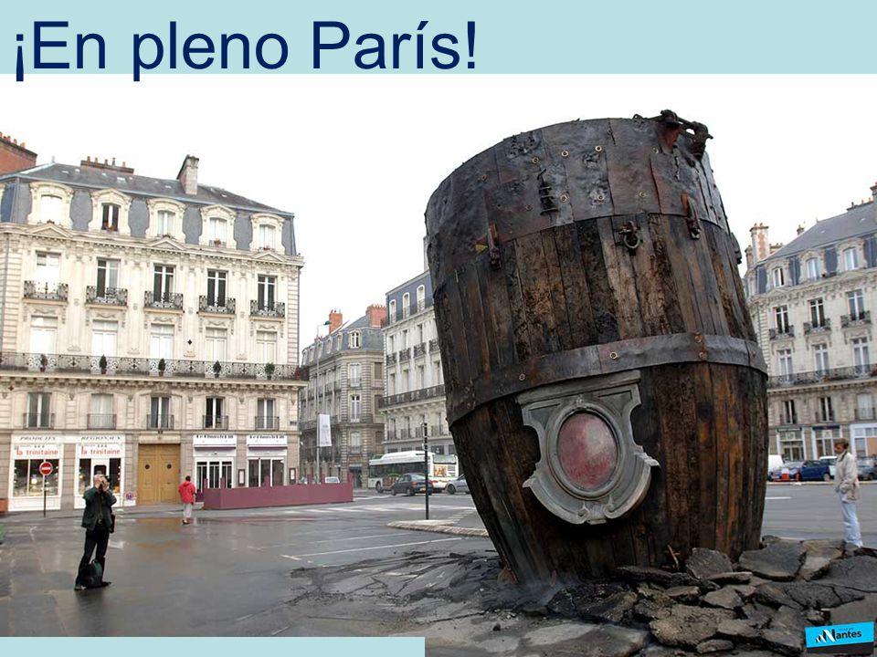 ¡En pleno París!