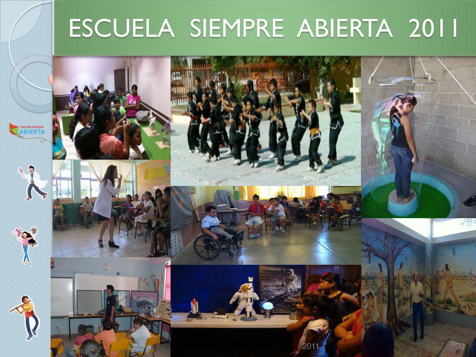 202011 ESCUELA SIEMPRE ABIERTA 2011