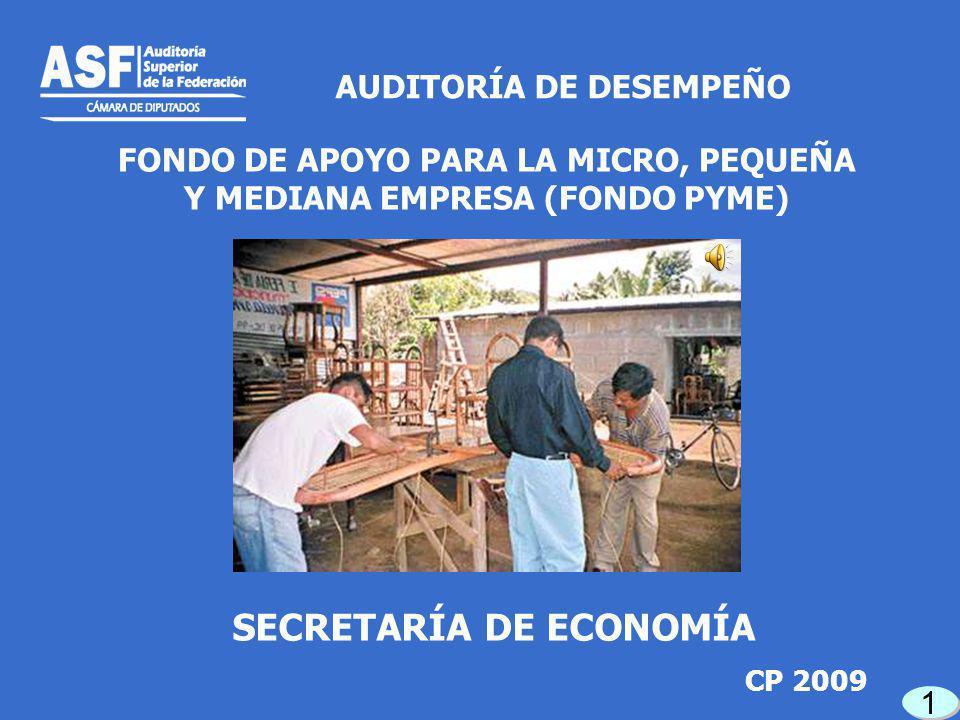 A la fecha de corte de la auditoría se encontraban pendientes de ejecución 362 proyectos de los 390 apoyados en 2009.
