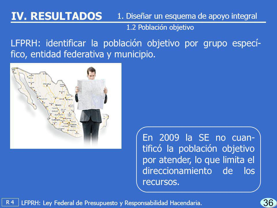 En 2009 la SE no contó con un programa de me- diano y largo plazo en el que se incluya un diag- nóstico de necesidades de las MIPYMES. 35 1.1 Planeaci