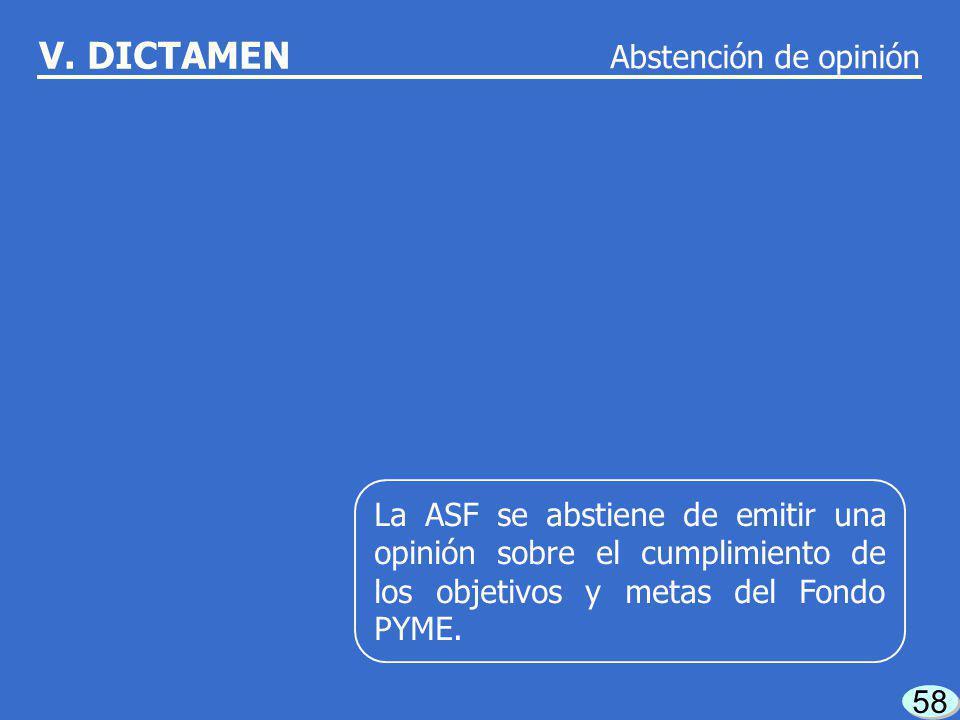 57 V. Dictamen CONTENIDO