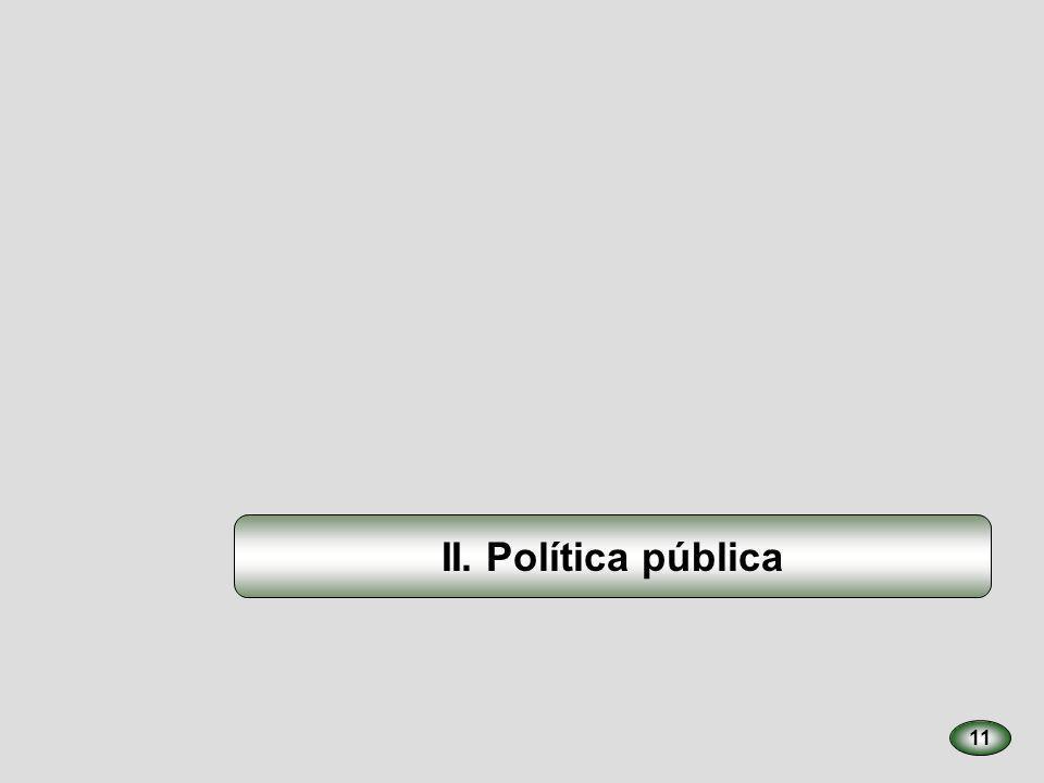 II. Política pública 11