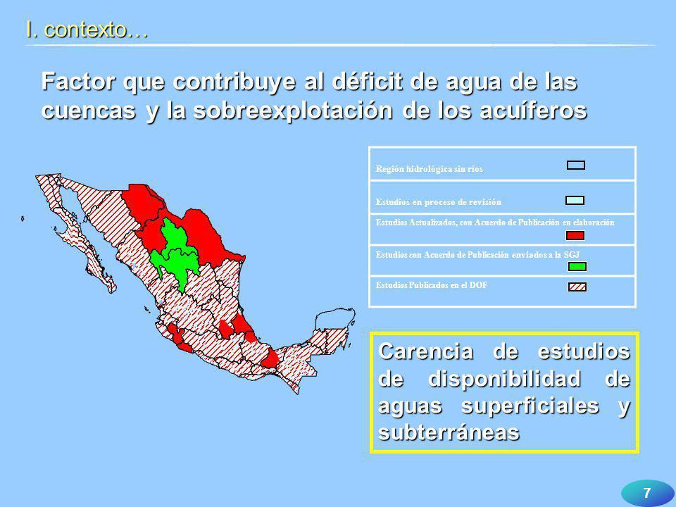 18 Otorga: Concesiones aConcesiones a los particulares los particulareso Asignaciones a Asignaciones a los municipios los municipios Para explotar, usar o aprovechar las aguas nacionales II.