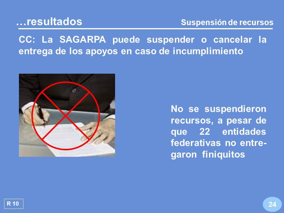 Operación del Sistema de Información de la Alianza para el Campo R 9 23 …resultados RO: Corresponde a la SAGARPA coordinar la operación nacional del sistema No se encontraron registros de información sobre el Programa de Acuacultura y Pesca de 2007, en ninguna de sus modalidades